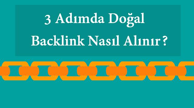 doğal backlink nasıl alınmalı