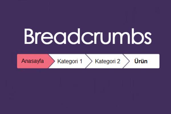 breadcrumb nedir