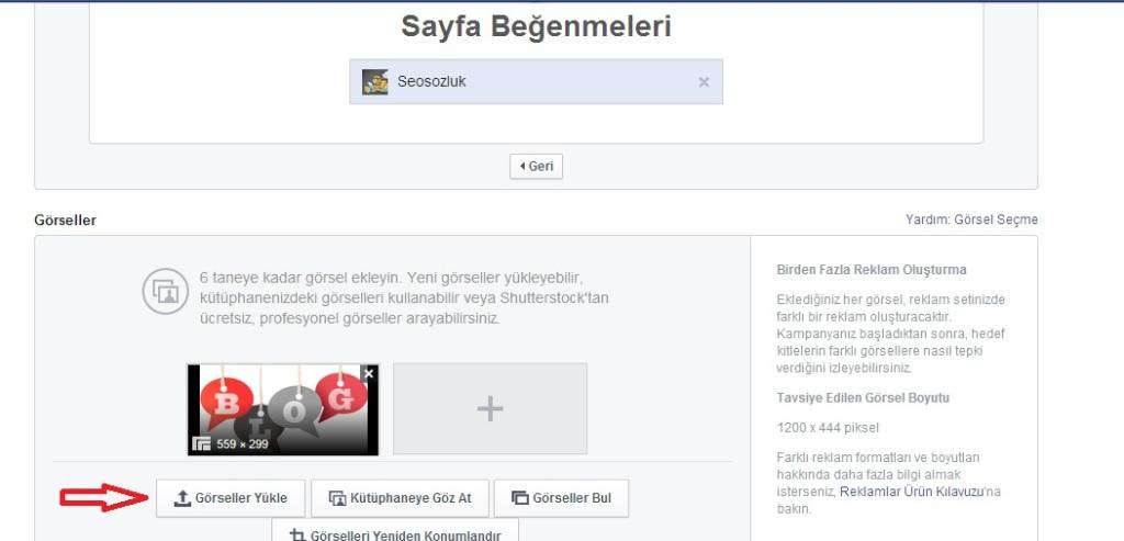 Facebook-Reklam 2