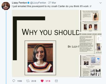 Lizzy Fenton Twitter