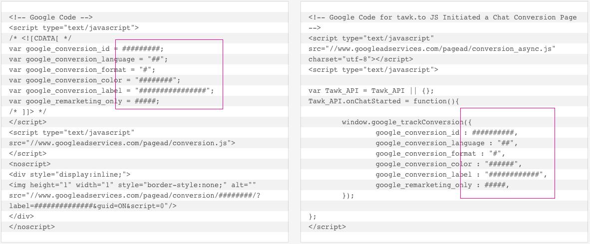 adwords dönüşüm kodu