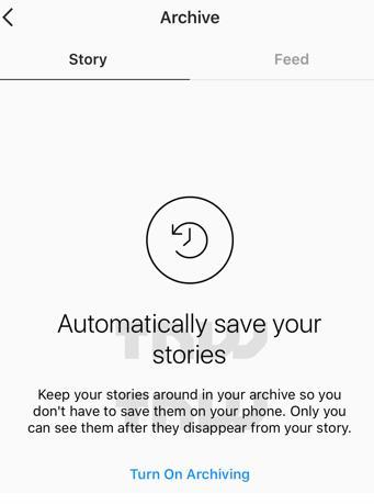 instagram archieve