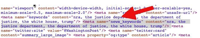 news meta etiketi