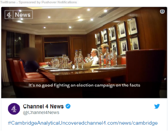 Channel 4 News - Facebook Skandalı