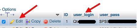 wordpress şifre nasıl sıfırlanır