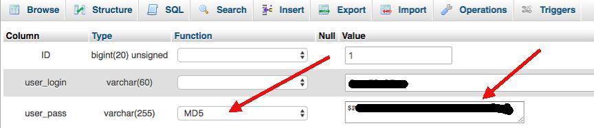wordpress şifre değiştir, sıfırla