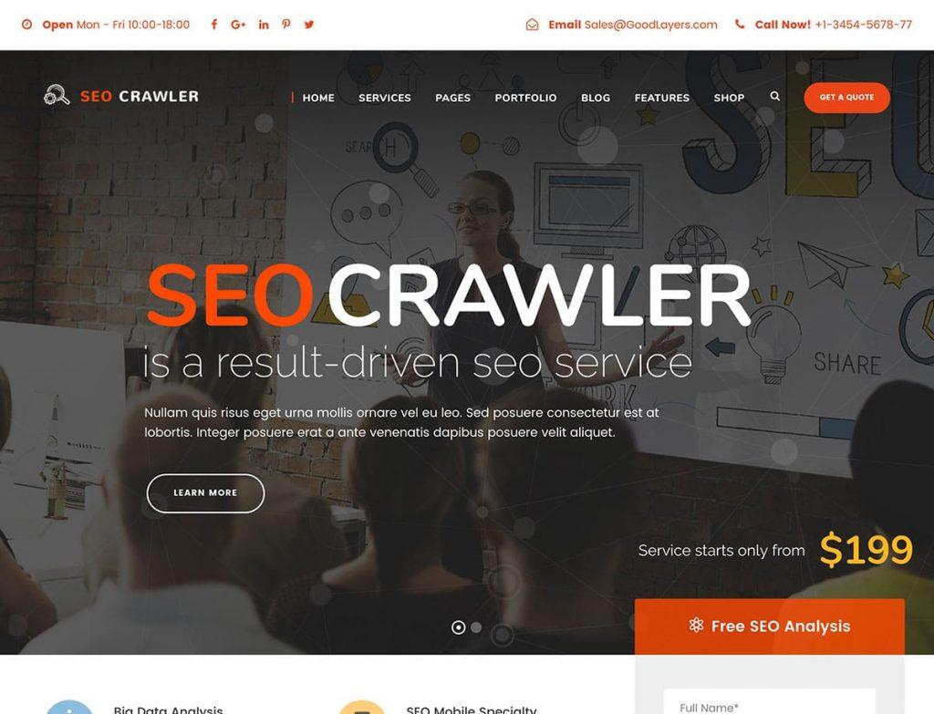 Seo Crawler - WordPress SEO Uyumlu Temalar