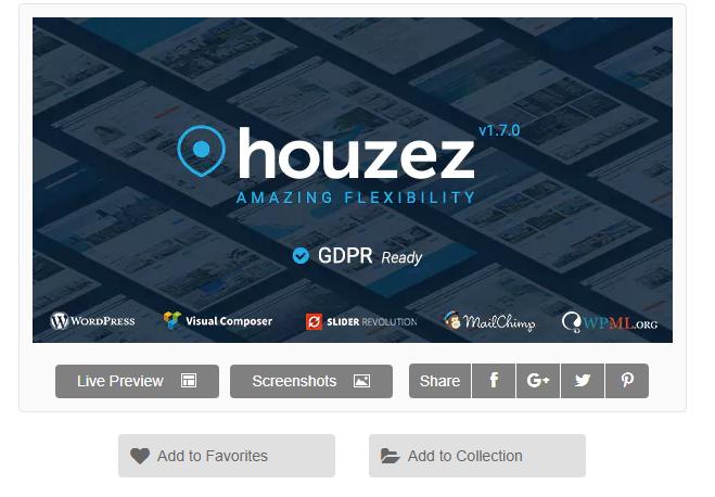 Houzez WordPress Emlak Teması