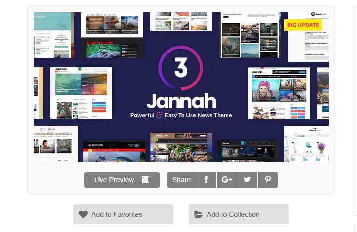 wordpress haber teması - Jannah News