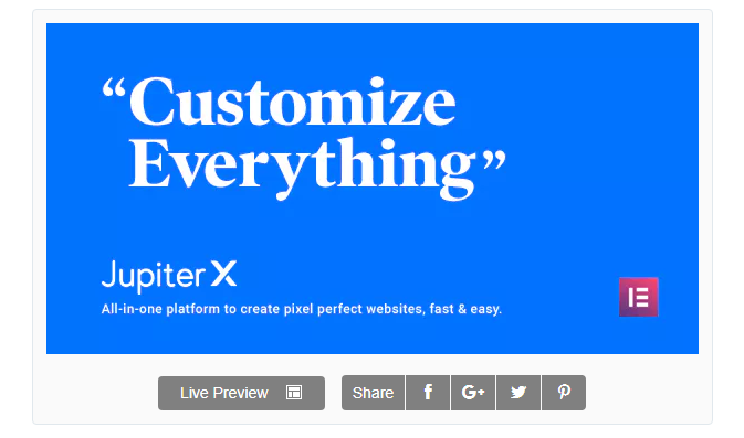 Jupiter - WordPress Kurumsal Tema