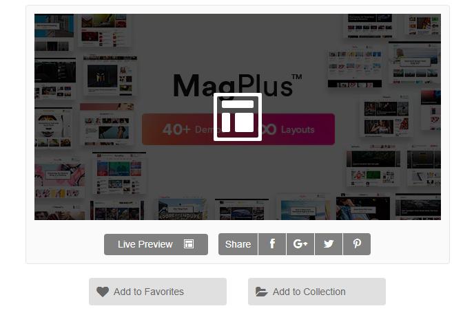 Magplus WordPress Adsense Teması