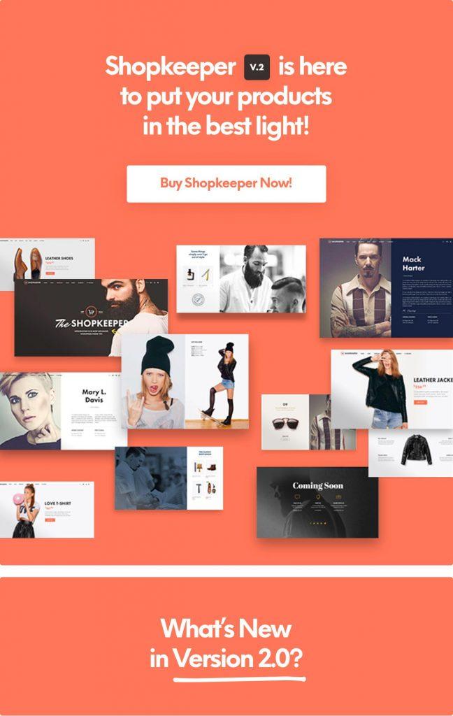 Shopkeeper - WordPress Eticaret Teması
