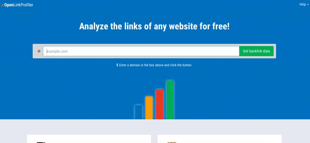 openlinkprofiler ücretsiz backlink aracı